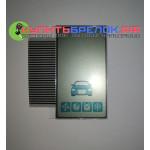 Дисплей жк на шлейфе StarLine A93 / A63 / A39 / A36 Вертикальный дисплей